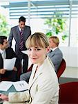 Group of office workers in a meeting Stock Photo - Premium Royalty-Free, Artist: Asia Images, Code: 635-01347582