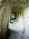 Clay tunnel Stock Photo - Premium Royalty-Freenull, Code: 640-01349617