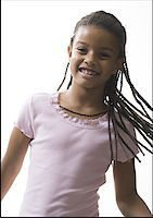 preteen  smile  one  alone - Portrait of a girl smiling Stock Photo - Premium Royalty-Freenull, Code: 640-01353446