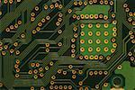 Closeup of circuit board Stock Photo - Premium Royalty-Freenull, Code: 640-01354397