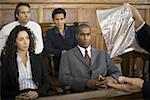 Lawyer presenting evidence to jurors Stock Photo - Premium Royalty-Freenull, Code: 640-01357986