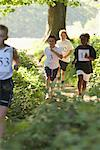 Children Running in Race    Stock Photo - Premium Royalty-Free, Artist: Masterfile, Code: 600-01374841