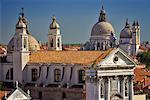 Church Domes, Venice, Italy    Stock Photo - Premium Rights-Managed, Artist: Daryl Benson, Code: 700-01378779