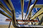 Natural Gas Pipes, Alberta, Canada    Stock Photo - Premium Rights-Managed, Artist: Ken Davies, Code: 700-01380906