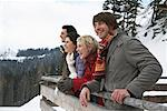 Portrait of Friends Outdoors    Stock Photo - Premium Rights-Managed, Artist: Masterfile, Code: 700-01407251