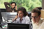 Business People in Office    Stock Photo - Premium Royalty-Free, Artist: Masterfile, Code: 600-01407349