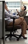Business People in Office    Stock Photo - Premium Royalty-Free, Artist: Masterfile, Code: 600-01407355