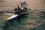 Businesspeople Rowing Stock Photo - Premium Royalty-Freenull, Code: 618-01416941
