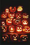 Jack-o'-lanterns Stock Photo - Premium Royalty-Free, Artist: Sheltered Images, Code: 618-01417260