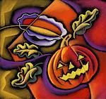 Jack-o'-lantern Stock Photo - Premium Royalty-Free, Artist: Sheltered Images, Code: 618-01417432