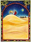 Wiseman With a Camel Looking at the Star of Bethlehem. Stock Photo - Premium Royalty-Free, Artist: Huber-Starke, Code: 618-01427761