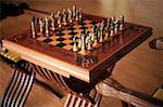 Elegant chess set Stock Photo - Premium Royalty-Free, Artist: AWL Images, Code: 644-01437138