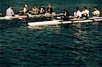 Businesspeople Rowing Stock Photo - Premium Royalty-Freenull, Code: 618-01445390