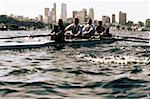 Businesspeople Rowing Stock Photo - Premium Royalty-Freenull, Code: 618-01445393