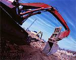 Arm of back-hoe Stock Photo - Premium Royalty-Free, Artist: Robert Harding Images, Code: 618-01447731