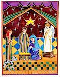A Nativity Scene Stock Photo - Premium Royalty-Free, Artist: Robert Harding Images, Code: 618-01455431