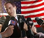 Reporters Interviewing Politician    Stock Photo - Premium Rights-Managed, Artist: Masterfile, Code: 700-01459184