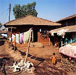 Rural Home, Maharashtra, India    Stock Photo - Premium Rights-Managed, Artist: Ben Seelt, Code: 700-01463850