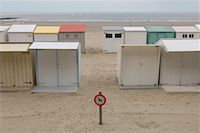 Beach Cottages, Blankenberge, Belgium    Stock Photo - Premium Rights-Managednull, Code: 700-01463924