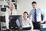 Business People in Office    Stock Photo - Premium Rights-Managed, Artist: Masterfile, Code: 700-01464208