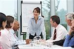 Business Meeting    Stock Photo - Premium Rights-Managed, Artist: Masterfile, Code: 700-01464286