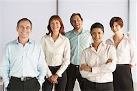 Portrait of Business People    Stock Photo - Premium Royalty-Freenull, Code: 600-01464493