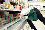 Clerk in Grocery Store    Stock Photo - Premium Rights-Managed, Artist: Noel Hendrickson, Code: 700-01464542