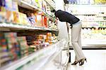 Woman at Grocery Store    Stock Photo - Premium Rights-Managed, Artist: Noel Hendrickson, Code: 700-01464544