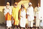 Five sadhus standing side by side Stock Photo - Premium Royalty-Free, Artist: Masterfile, Code: 630-01490661