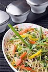 Close-up of mixed fried noodles on a platter Stock Photo - Premium Royalty-Freenull, Code: 630-01491440