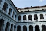 Low angle view of corridors of a church, St. Francis Xavier Church Old Goa, Goa, India Stock Photo - Premium Royalty-Free, Artist: Beyond Fotomedia, Code: 630-01492462
