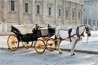 Horse-Drawn Carriage, Seville, Spain    Stock Photo - Premium Rights-Managednull, Code: 700-01519300