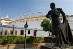 Bullfighter Statue Outside of Plaza de Toros de la Maestranza, Seville, Spain    Stock Photo - Premium Rights-Managed, Artist: Siephoto, Code: 700-01519317