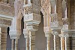 Close-up of Arches in Alhambra Palace, Granada, Spain    Stock Photo - Premium Rights-Managed, Artist: Siephoto, Code: 700-01519343