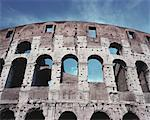 Italy, Rome, The Colosseum, low angle view, close-up Stock Photo - Premium Royalty-Free, Artist: Graham French, Code: 613-01533927
