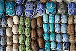 Scarabs, Khan Al-Khalili Bazaar, Cairo, Egypt