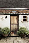Doorway, Thatched Cottage, Devon, England, United Kingdom    Stock Photo - Premium Rights-Managed, Artist: Tim Hurst, Code: 700-01538833