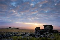 dartmoor national park - Tors of Dartmoor, Devon, England, United Kingdom    Stock Photo - Premium Rights-Managednull, Code: 700-01538864
