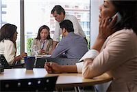 Business People in Lunch Room    Stock Photo - Premium Royalty-Fre