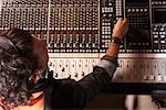 Man Working in Recording Studio    Stock Photo - Premium Royalty-Free, Artist: Masterfile, Code: 600-01540793