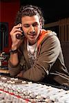 Man Working in Recording Studio    Stock Photo - Premium Royalty-Free, Artist: Masterfile, Code: 600-01540799