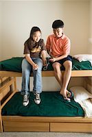 preteen thong - Teenagers Listening to MP3 Player    Stock Photo - Premium Rights-Managednull, Code: 700-01540866