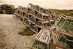 Lobster Traps, Peggy's Cove, Nova Scotia, Canada
