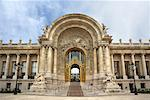 Entrance to Petit Palais, Paris, France