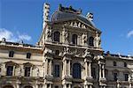 Pavillon Denon, Louvre, Paris, France