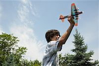 pre-teen boy models - Boy with Toy Plane    Stock Photo - Premium Royalty-Freenull, Code: 600-01571878