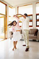 preteen girl feet - Father Dancing With Daughter    Stock Photo - Premium Rights-Managednull, Code: 700-01572085