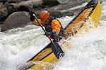 Whitewater Canoeist Stock Photo - Premium Royalty-Free, Artist: AWL Images, Code: 622-01572232