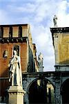 Italy, Veneto, statue of Dante Stock Photo - Premium Royalty-Freenull, Code: 610-01576575