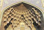 Iran, Esfahan, Sheikh Lotfollah Mosque, arch
